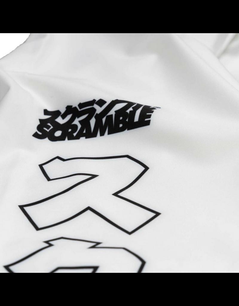 Scramble Scramble White BJJ SPATS