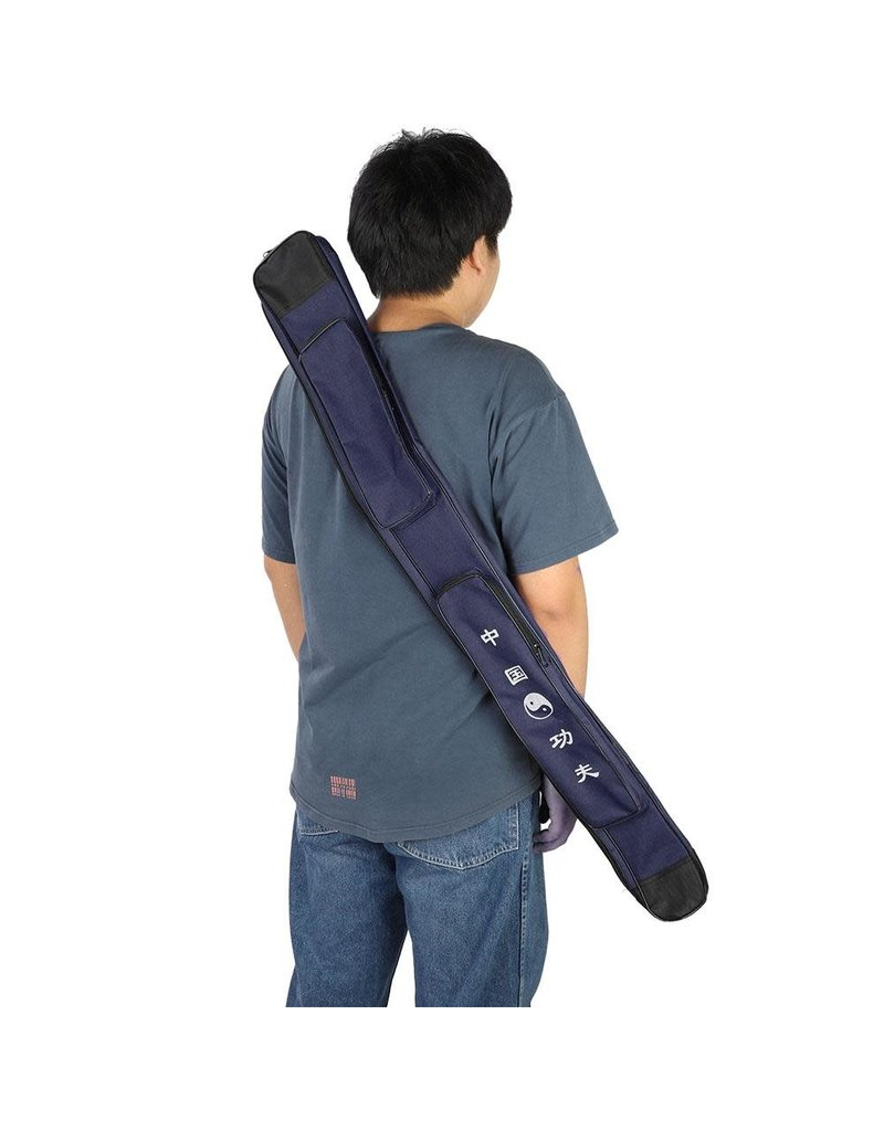 Blue Chinese Sword Case
