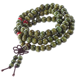 Enso Martial Arts Shop Green Buddhist Mala Beads