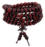 Enso Martial Arts Shop Red Buddhist Mala Beads