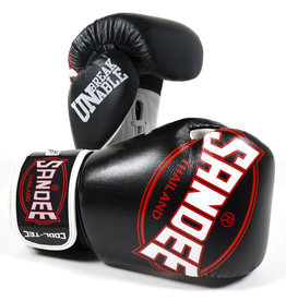 Sandee Sandee Boxing Gloves Cool Tec Black & White