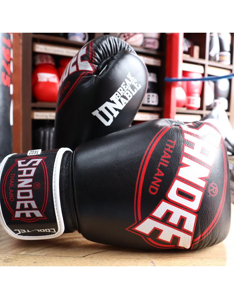 Sandee Sandee Boxing Gloves Cool Tec Black & White