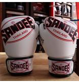 Sandee Sandee Boxing Gloves Cool Tec White & Black