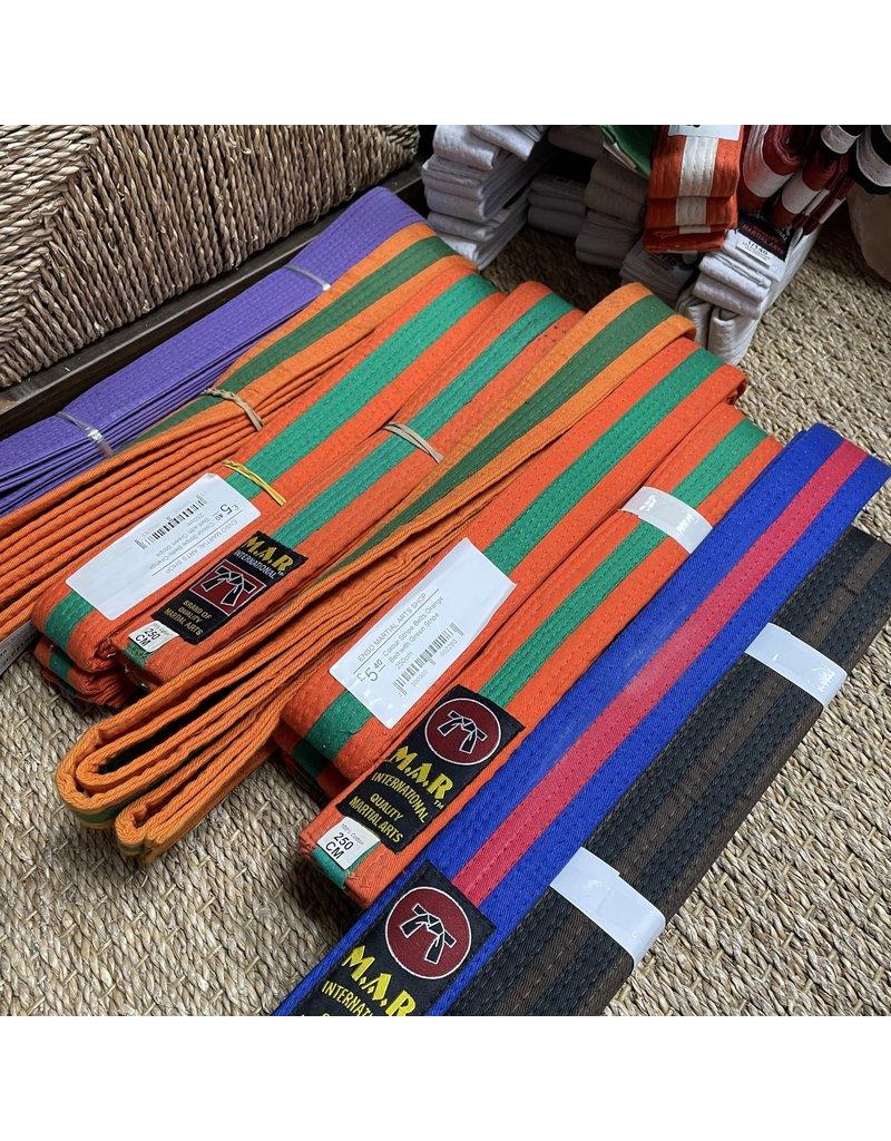 Coloured Stripe Belts