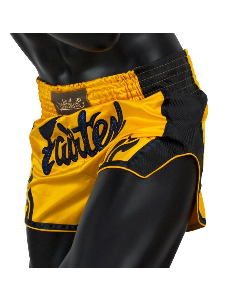 Fairtex Fairtex Muay Thai Shorts Yellow
