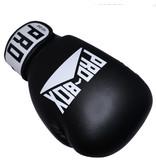 Probox Pro Box Black Leather Boxing Gloves