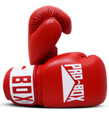 Probox Pro Box Red Leather Boxing Gloves