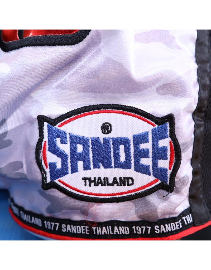 Sandee Sandee Thai Shorts Supernatural White & Red