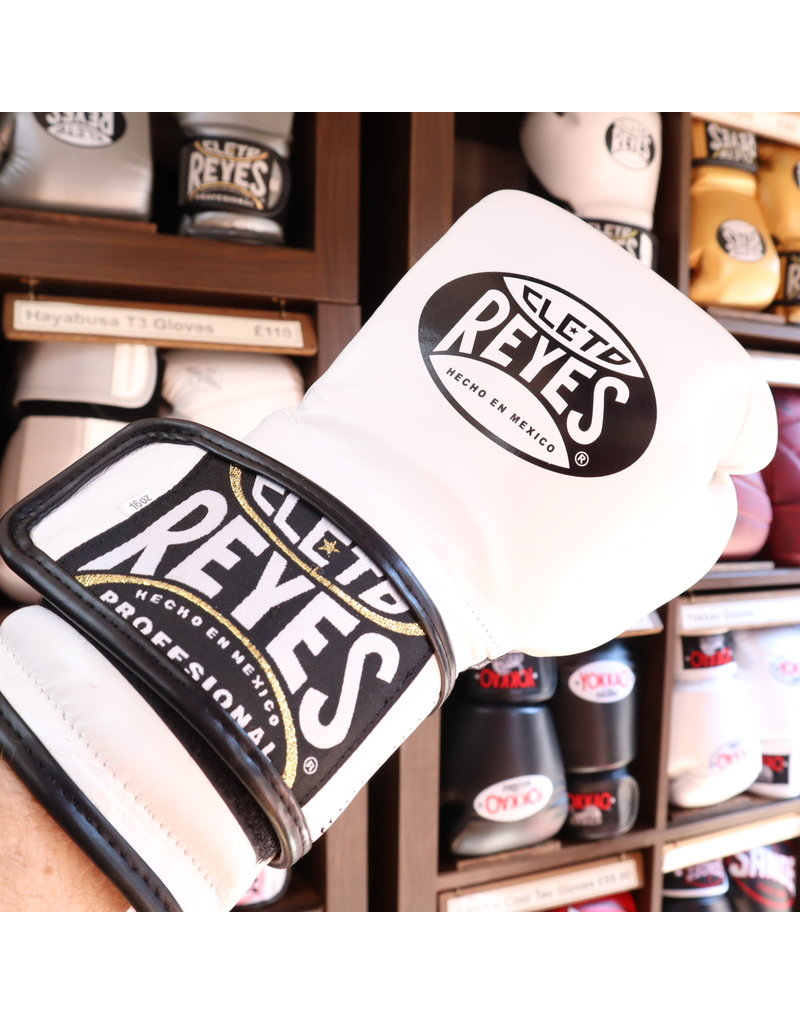 Cleto Reyes Cleto Reyes Boxing Gloves White Velcro