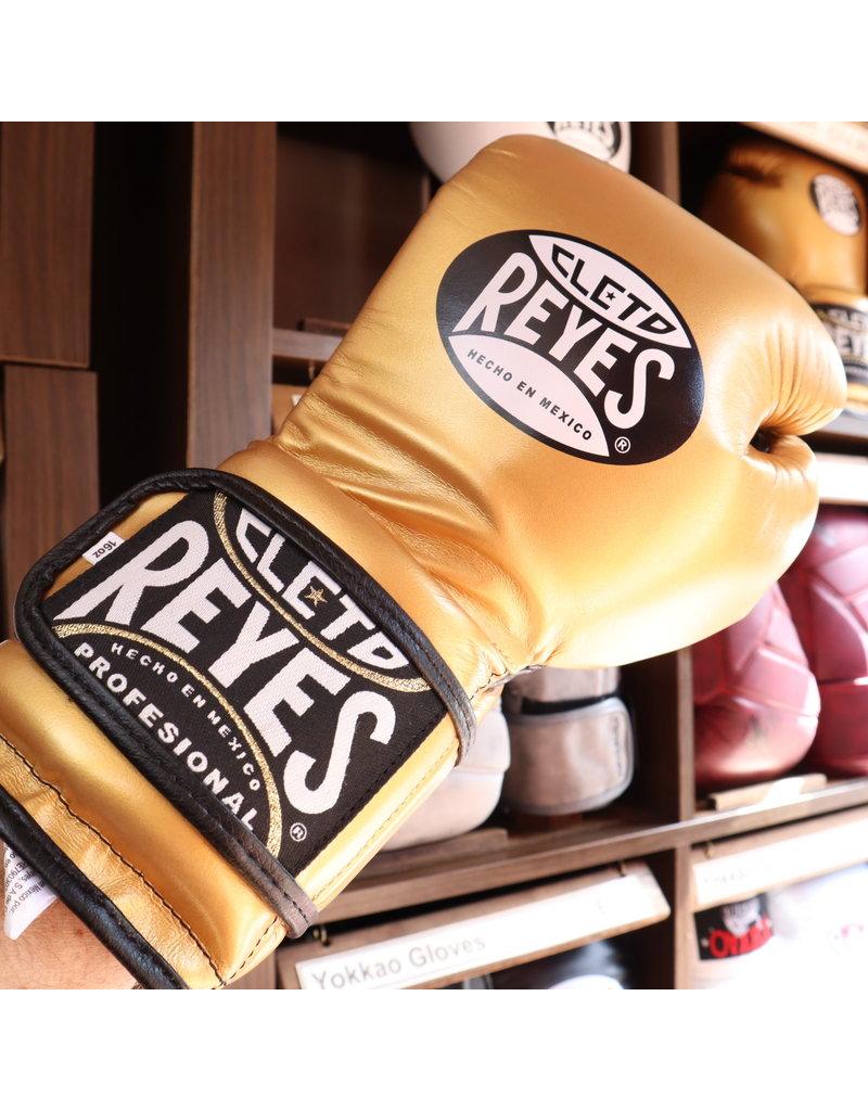 Cleto Reyes Cleto Reyes Boxing Gloves Gold Velcro