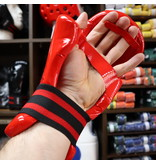 Dipped Foam Sparring Gloves Red