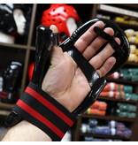 Dipped Foam Sparring Gloves Black
