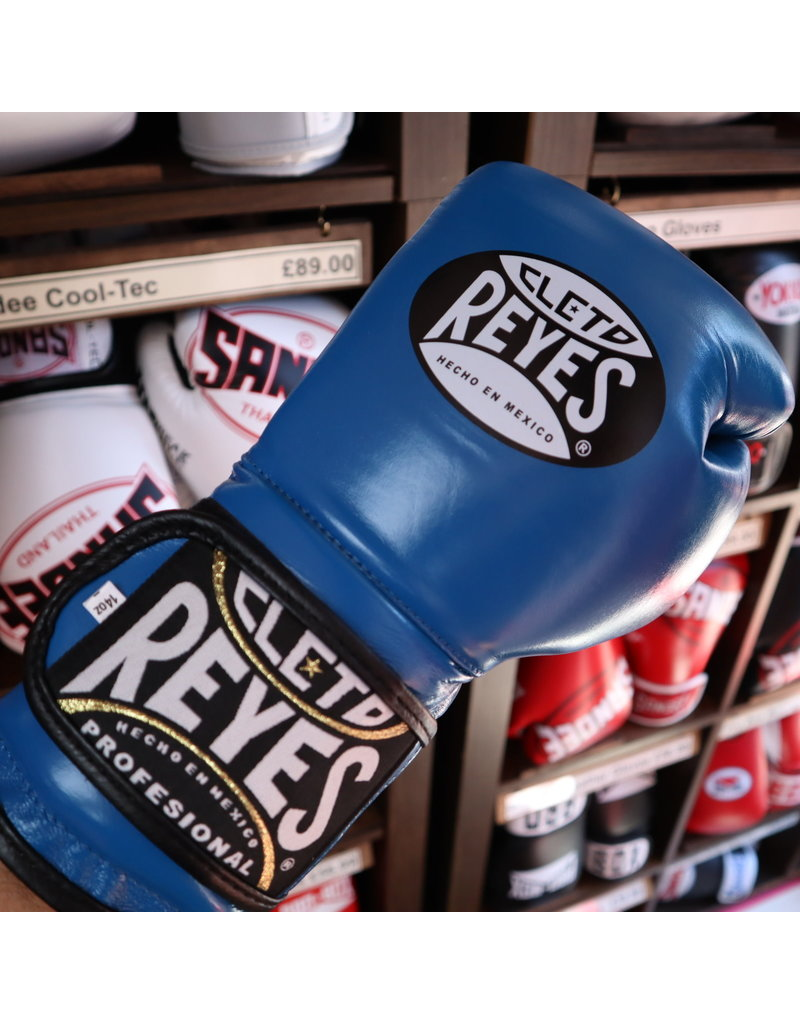 Cleto Reyes Cleto Reyes Boxing Gloves Blue Velcro