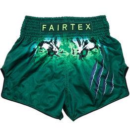 Fairtex Fairtex Thai Shorts Green Tiger