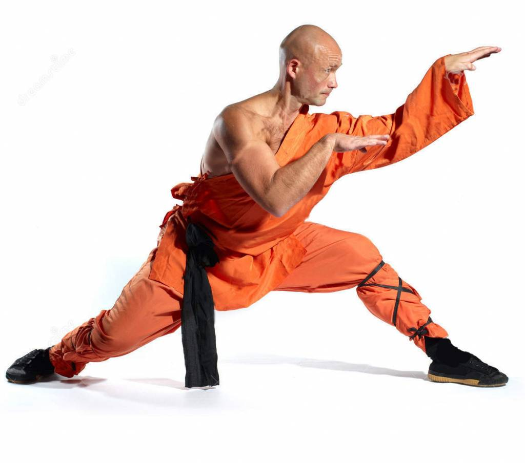 Orange Temple By The Monks Shaolin Robes Worn China In Yb7yf6g