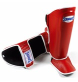 Sandee Sandee Shin Guards Authentic Red