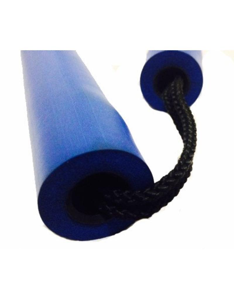 Enso Martial Arts Shop Blue Foam Nunchaku with Cord