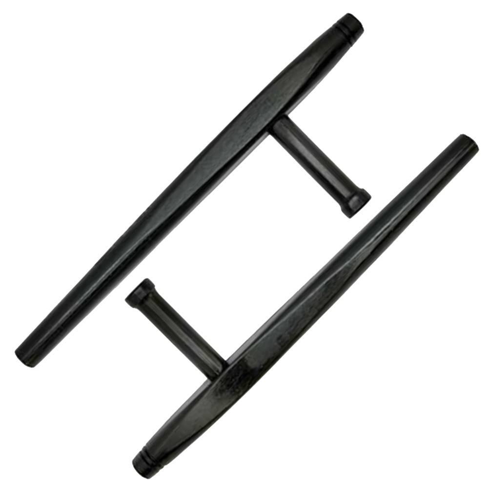 Black Oak Tonfa is a traditional Okinawan wooden weapon