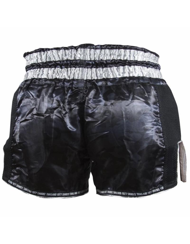 Sandee Sandee Thai Shorts Supernatural Black & Silver