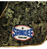 Sandee Sandee Thai Shorts Unbreakable Black & Gold