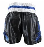 Sandee Sandee Thai Shorts Respect Black and Blue