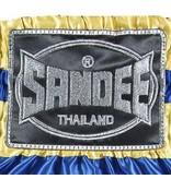 Sandee Sandee Thai Shorts Respect Blue & Yellow