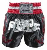 Sandee Sandee Thai Shorts Respect Red & Black