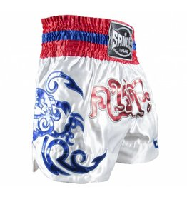 Sandee Sandee Thai Shorts Respect White & Red
