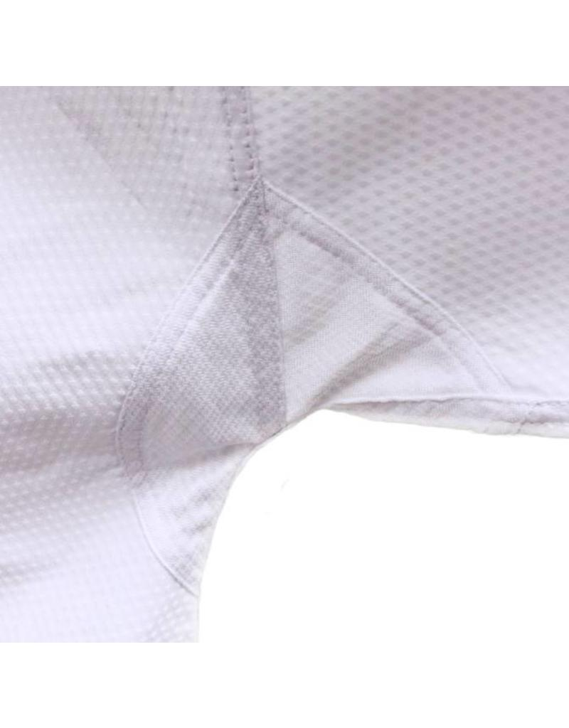 Tusah Tusah Taekwondo Dobok Black Collar WTF Approved