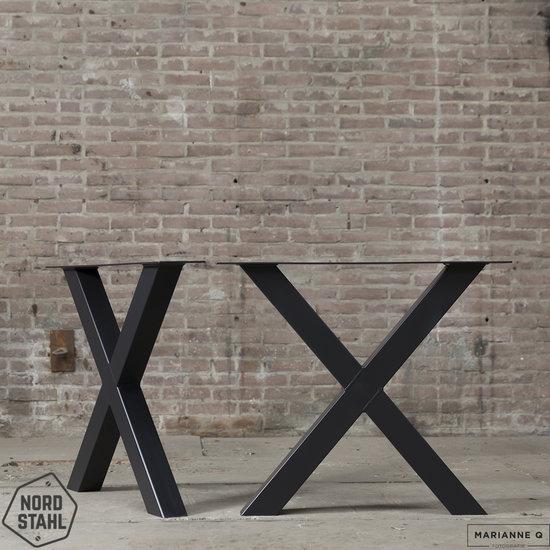 Nordstahl Industrieel tafelonderstel X leg