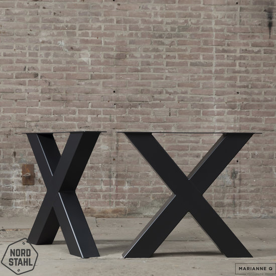 Nordstahl Industrieel tafelonderstel X leg heavy