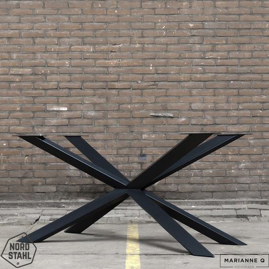 Nordstahl Industrieel tafelonderstel Tafelpoot Spider leg
