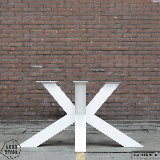 Nordstahl Industrieel tafelonderstel Tafelpoot Matrix leg heavy WIT