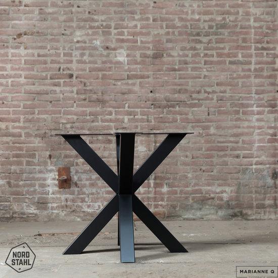 Nordstahl Industrieel tafelonderstel Tafelpoot Double X leg