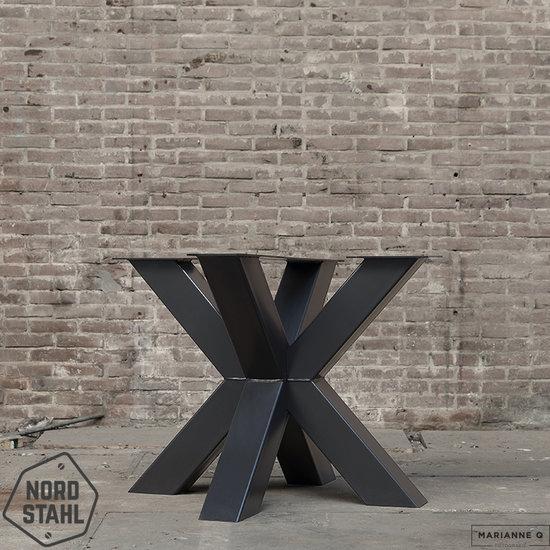Nordstahl Industrieel tafelonderstel Tafelpoot Double X leg heavy
