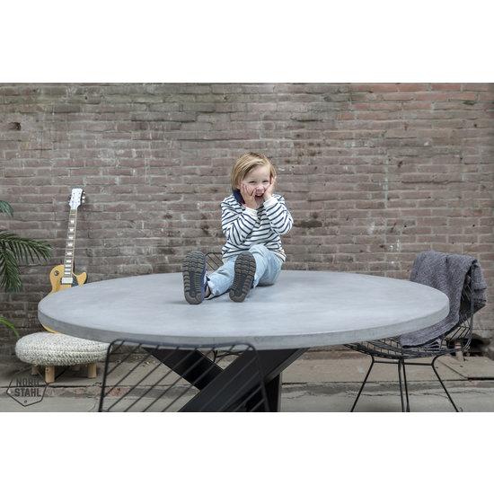 Nordstahl Industrieel tafelonderstel Tafelpoot Twist Circle leg heavy