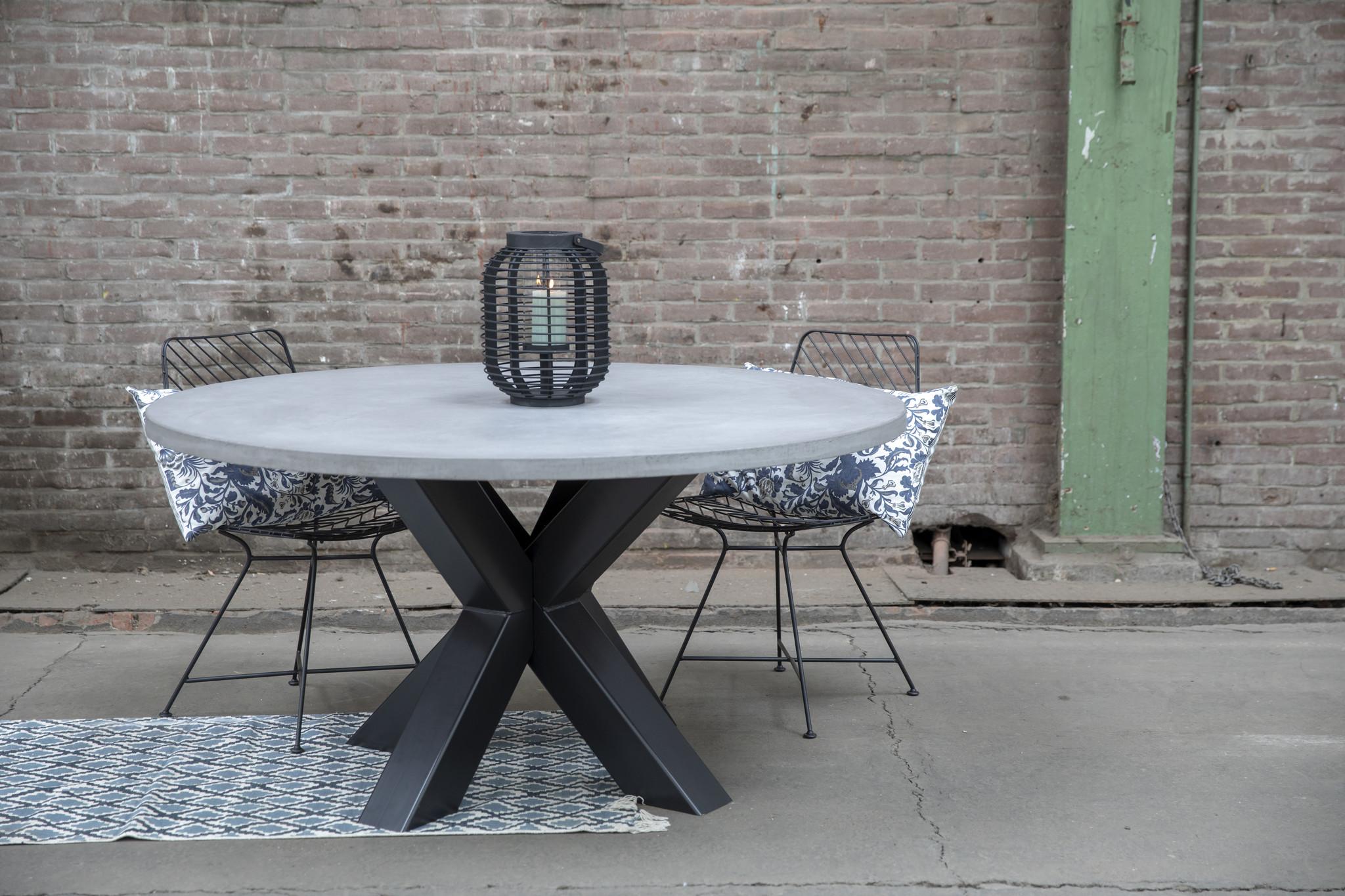 Stalen tafelpoten voor onder ronde tafels