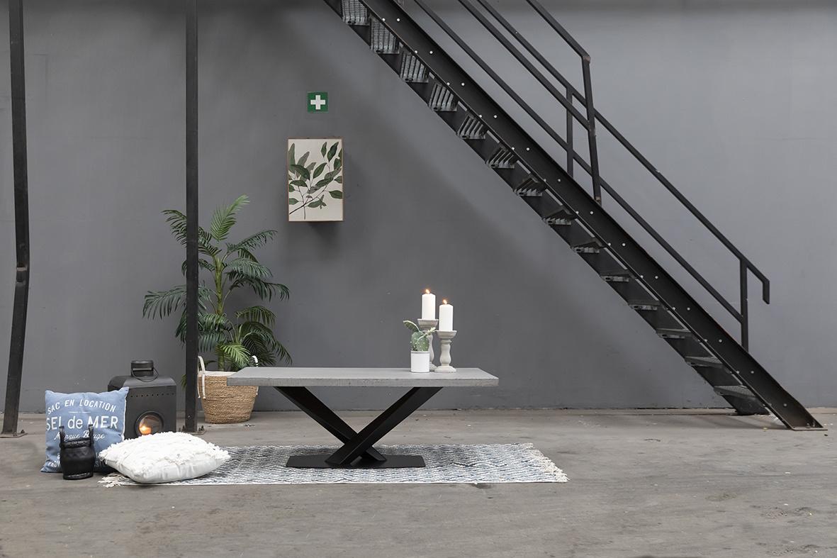 Betonlook salontafel 2