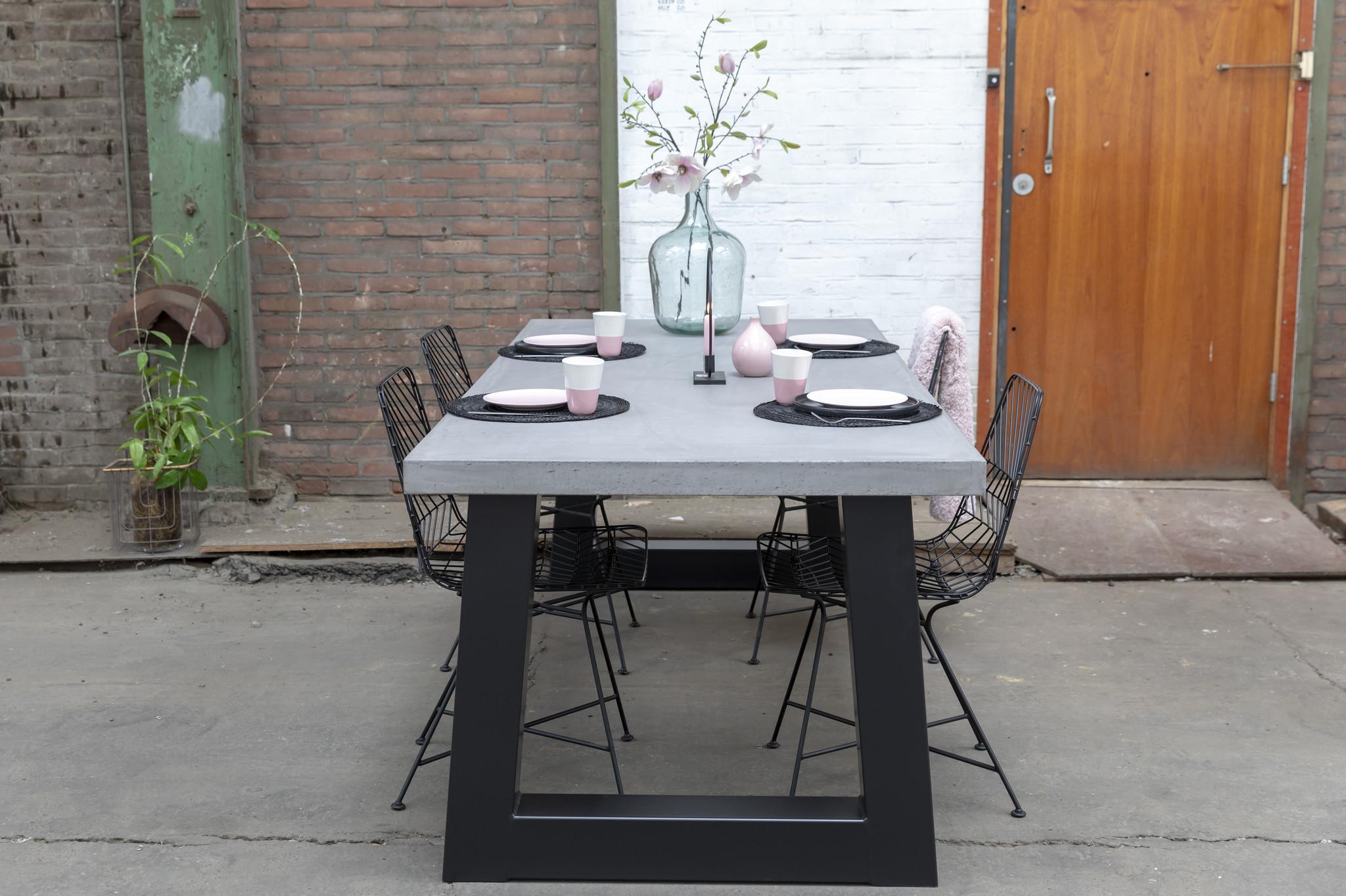 Stalen tafelpoten Trapezium