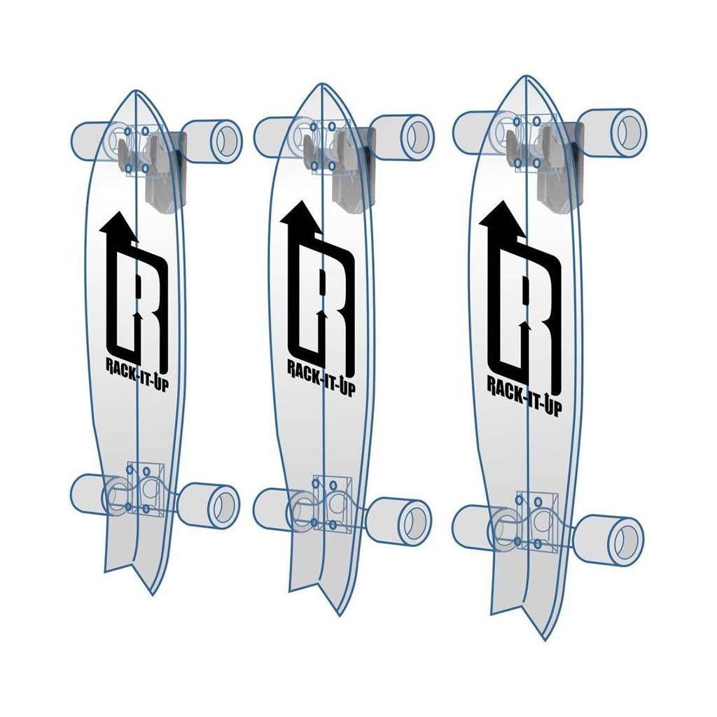 Rack it up Storage Rack Electric Skateboard Vertical