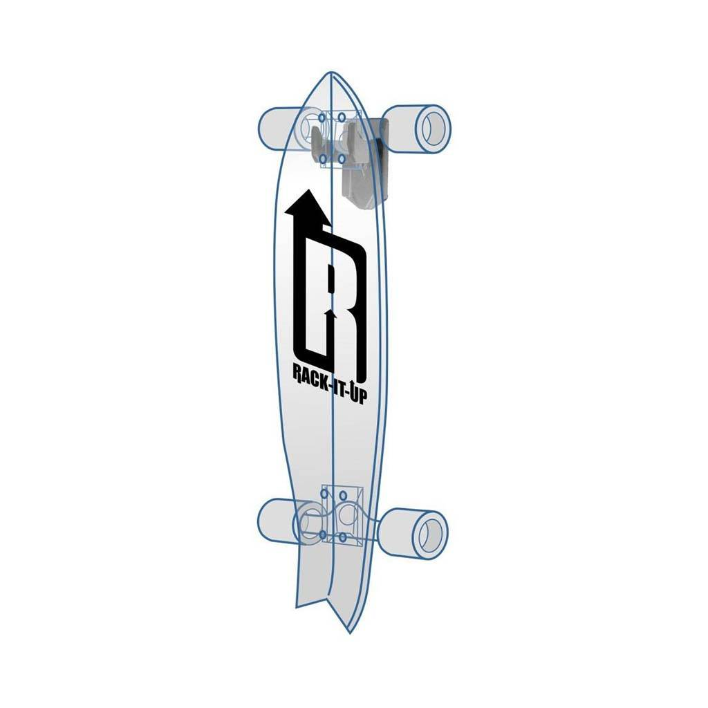 Rack it up Ophangbeugel Elektrisch Skateboard Verticaal