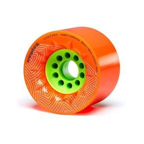 Orangatang Caguama Wielen Oranje - 85mm