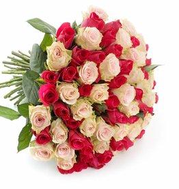 Gemengde rozen