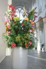 Podium bloemstuk