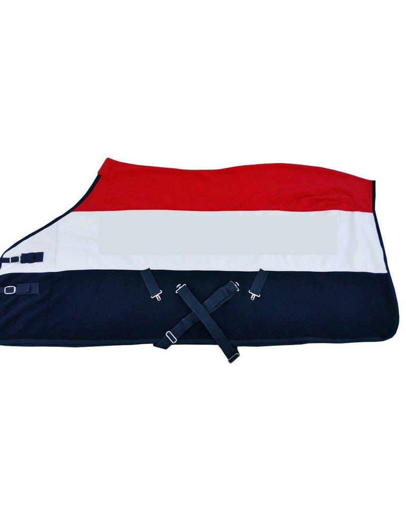 LuBa Paardendekens® Polar Fleece deken - Nederlandse vlag