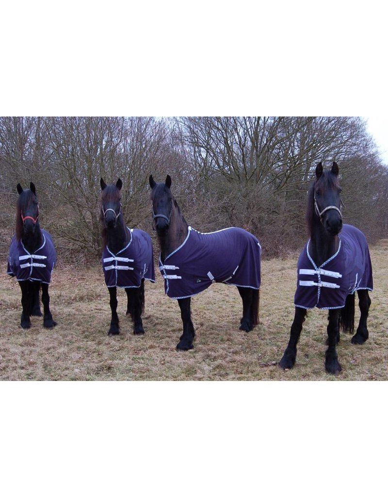 LuBa Paardendekens® Zweetdeken Luxe Fleece - Fries