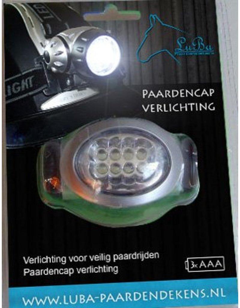 LuBa Paardendekens® Paardrij-cap Verlichting