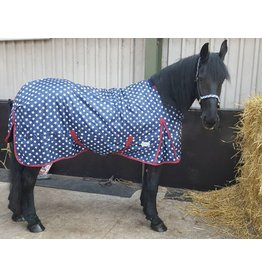 LuBa Paardendekens, Exclusive® Winterdeken Superstar - Fries