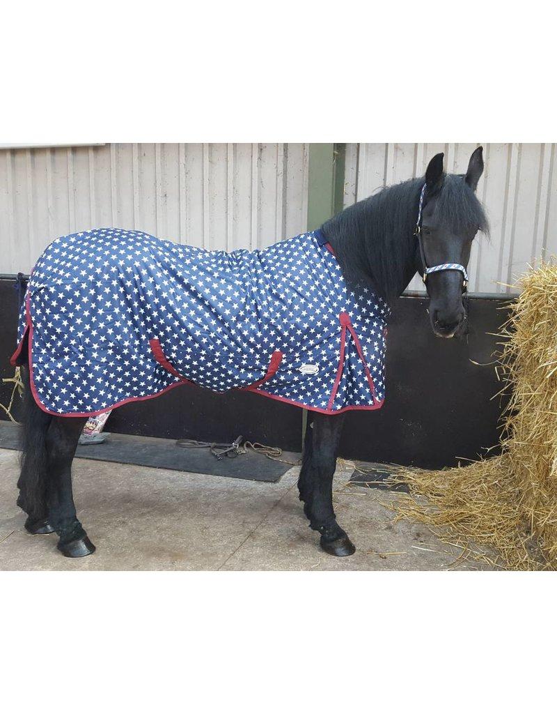 LuBa Paardendekens, Exclusive® Regen/Winterdeken Superstar - Fries
