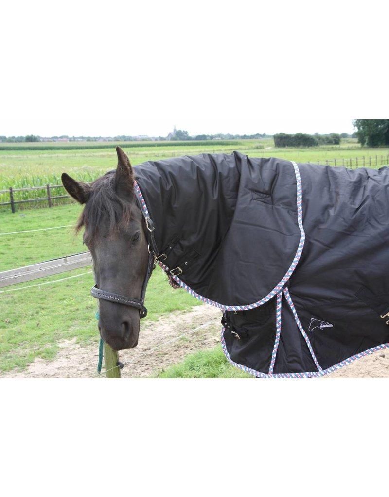 LuBa Paardendekens, Extreme® Regendeken Turnout 1680D COMBO/Afneembare hals - Fries
